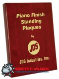 "OCPSP12 - 5"" x 7"" Rosewood Piano Finish Standing Plaque"
