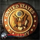 OCLO03 - United States Army Wood Seal