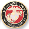 "Marine Corps 2"" Etched"